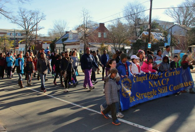 CH Honors MLK With Annual Rally, Looks Ahead For Moral Monday