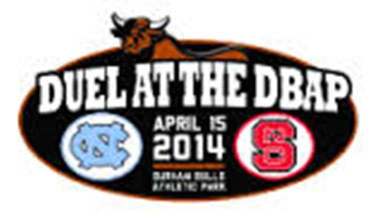 Duel At The DBAP: Tar Heels Will Face Rival N.C. State April 15