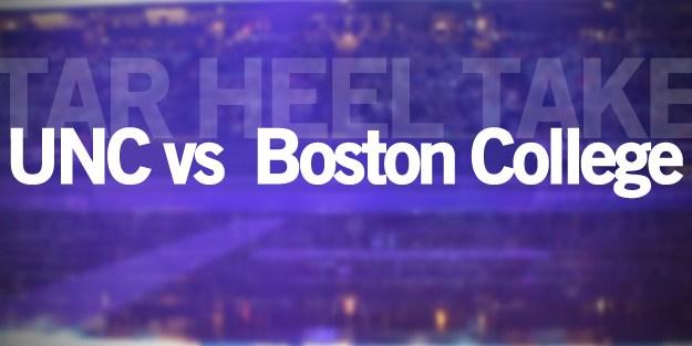 Tar Heel Take: Boston College