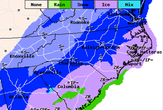 Cold Temperatures To Follow Wednesday Night Snow