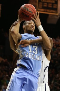 Tokoto muscling his way to the basket. (Todd Melet)