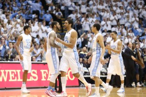 Tar Heels gutted it out Saturday (Todd Melet)