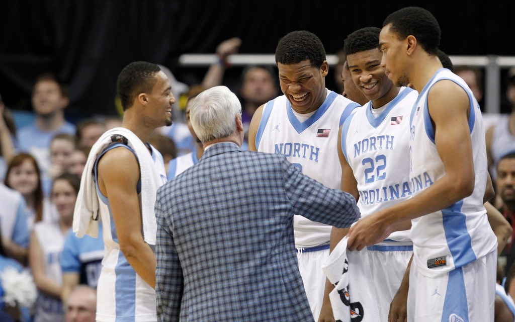 Rolling Tar Heels Happy, Hungry For More