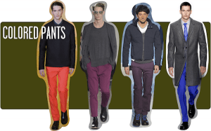 Unexpected - Colored pants 2014