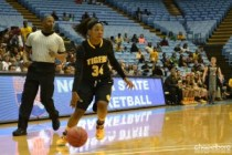 Jamella Smith filled the stat sheet with 12 points, 6 rebounds and 5 assists.