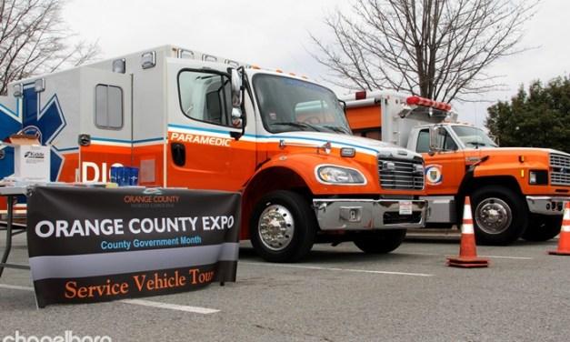 Orange County Ambulance Involved in Sunday Crash