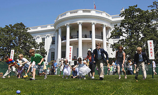 Parenting Page: Easter at the White House