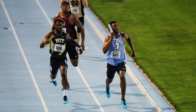 Men's Track & Field Team Finishes Three Shy Of ACC Title