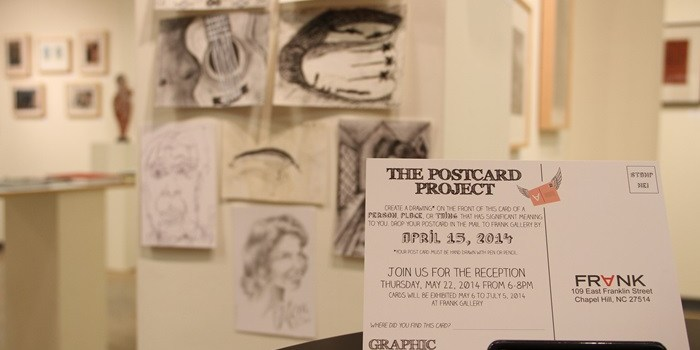 Postcards at FRANK