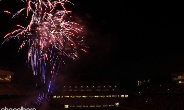4th of July at Kenan Stadium!