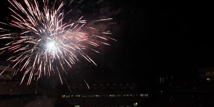 Kenan Stadium Fireworks Boasts Biggest Audience Yet