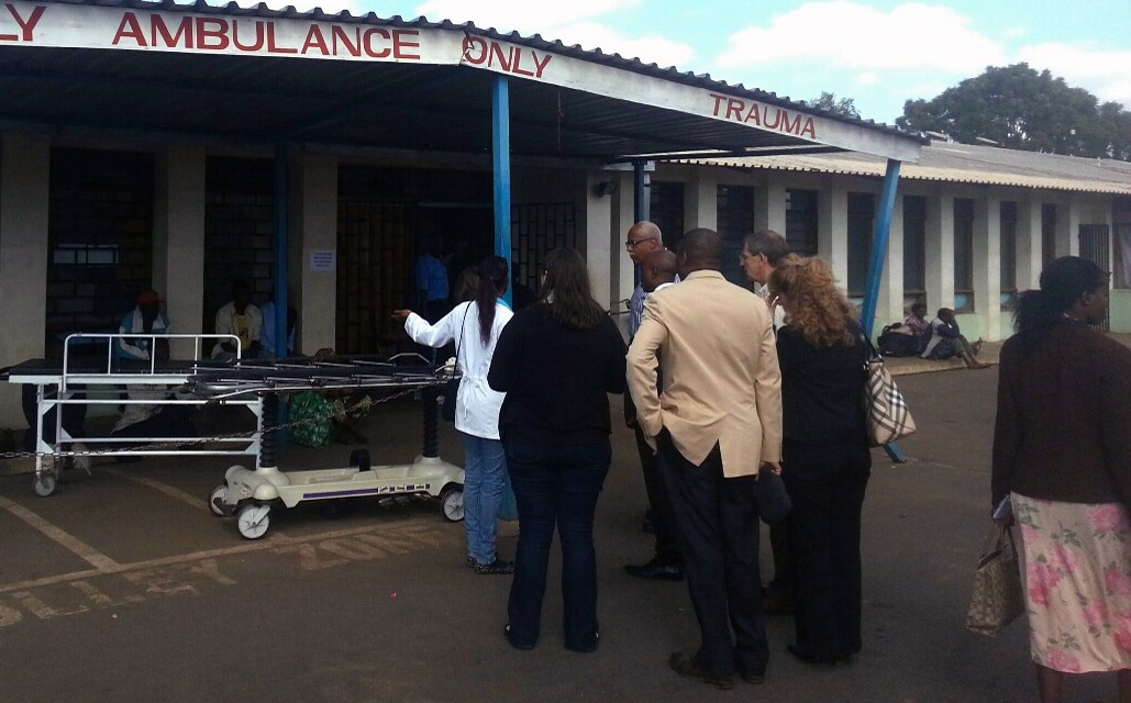 UNC Surgeons Open Malawian Burn Unit