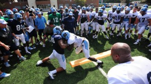 UNC training camp (UNC Athletics)
