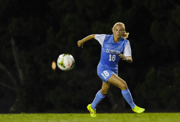 UNC Women's Soccer Defeats Ohio State For First Win