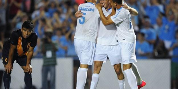 Seniors Lead UNC Men's Soccer To 3-1 Win Over Cal