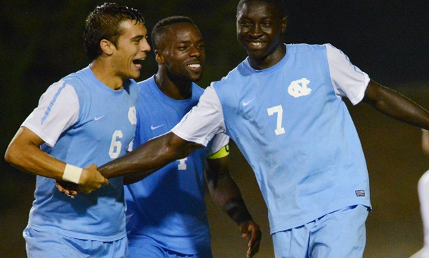 Tar Heel Men's Soccer Edges Clemson, Advances To QFs