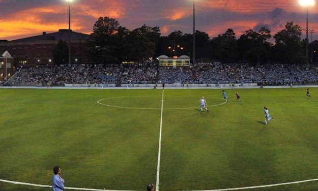 UNC Men's Soccer Downs Georgia State, 4-0