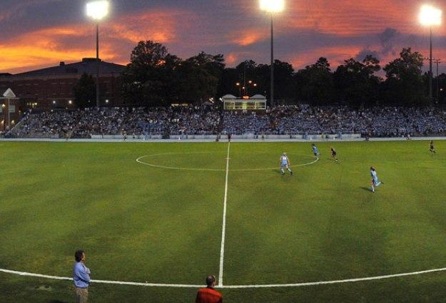 UNC Men's Soccer Downs Georgia State, 4-0