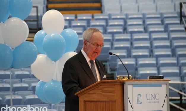 Woody Durham Honored with Bradley Award
