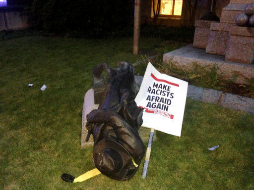 3 More Charged in Toppling North Carolina Confederate Statue