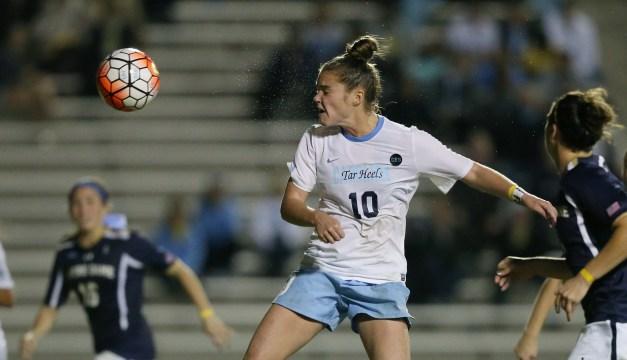 UNC Women's Soccer Demolishes Auburn