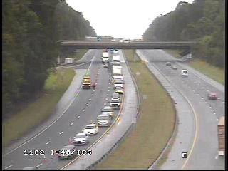 I-85 Reopened in Orange County After Morning Wreck