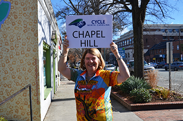 Chapel Hill Selected as Stop for This Year's NC Mountains to Coast Ride