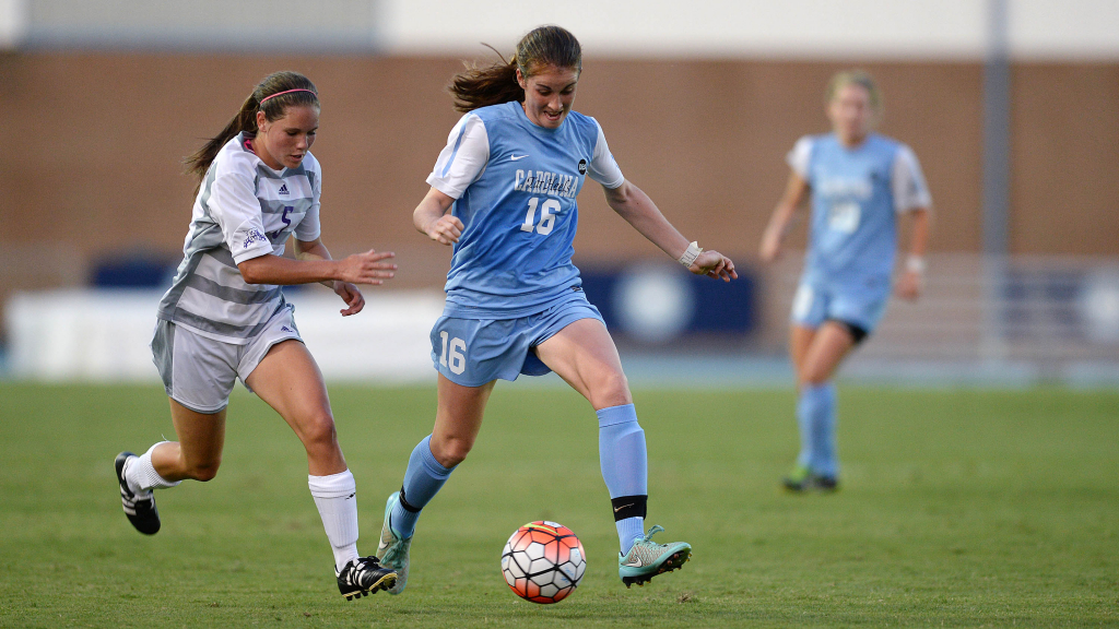 Pair of Tar Heels Named ACC Women's Soccer Players of the Week