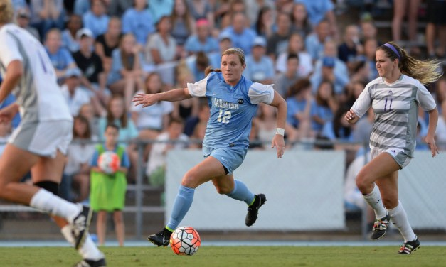 UNC Women's Soccer Storms Past Boston College