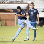 UNC Men's Soccer Rallies For Double Overtime Victory Over Old Dominion