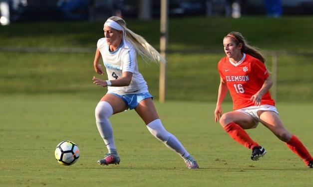 Women's Soccer: Andrzejewski's Last-Minute Goal Earns UNC a Tie Against Notre Dame