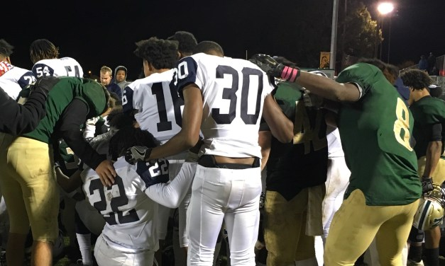 Hornets Reduce Mistakes and Deny Chargers Big 8 – 3A Title Celebration