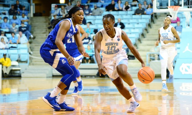Winter Weather Postpones UNC Women's Hoops Game at Boston College