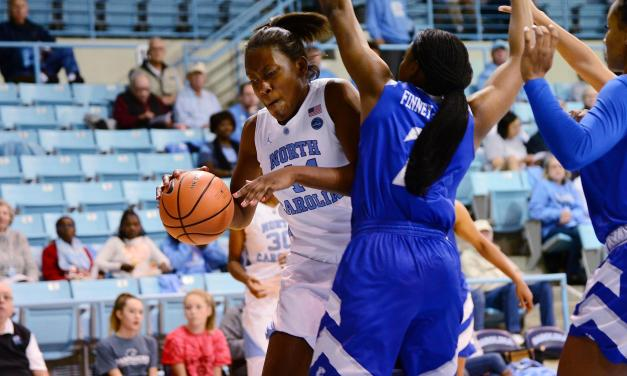 Defense Helps UNC Women's Basketball Dominate Radford