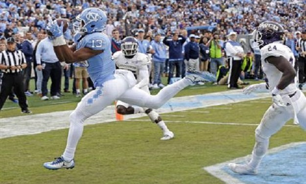 Tar Heels Avoid Winless Season at Kenan Stadium With 65-10 Drubbing of Western Carolina