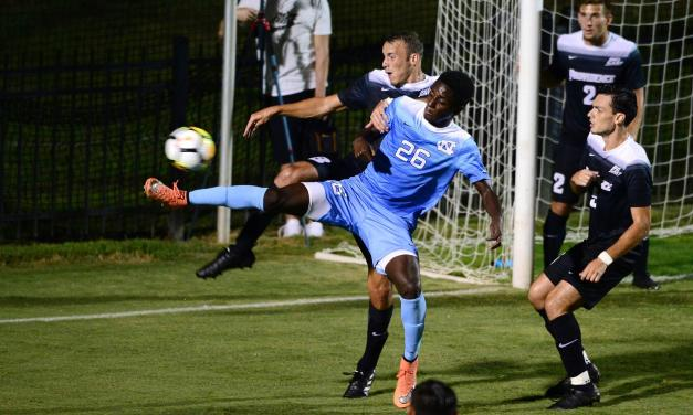 NCAA Men's Soccer Tournament: Tar Heels Exact Revenge on UNC-Wilmington, Advance to Sweet 16