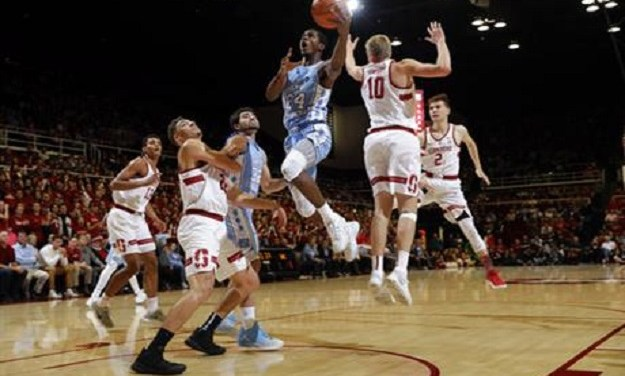 Williams, Berry Spark No. 9 UNC's Impressive Road Win at Stanford