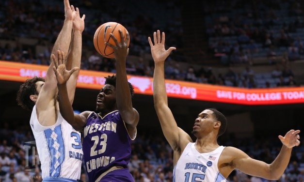 No. 11 Tar Heels Head Into Exam Break With 104-61 Dismantling of Western Carolina