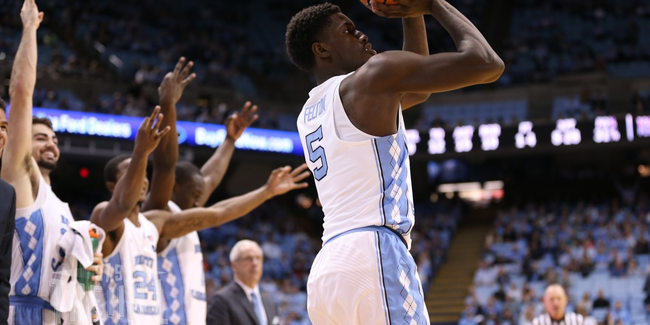 Attorney: UNC Guard Jalek Felton Out Saturday Against Pittsburgh