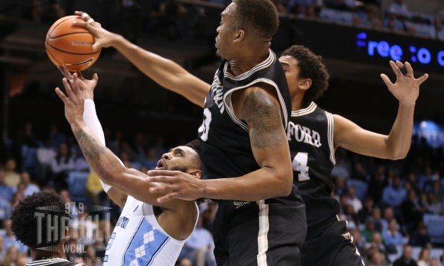 Fletcher Magee Lifts Wofford to Stunning Upset at Dean Dome Over No. 5 UNC