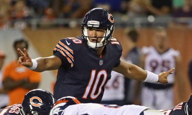 Mitch Trubisky Named NFC Offensive Player of the Week