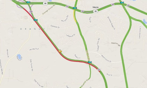 Eastbound Lane of I-40 Reopened in Orange County After Tuesday Morning Crash