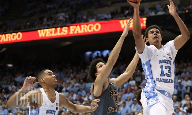 Fresh Starting Lineup Carries No. 20 UNC Past Boston College