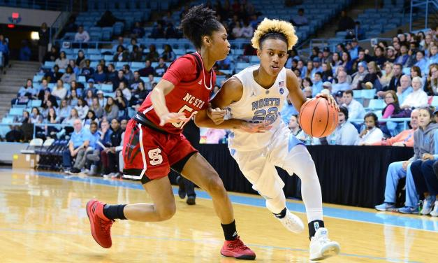 UNC Women's Basketball Falls to NC State at Home