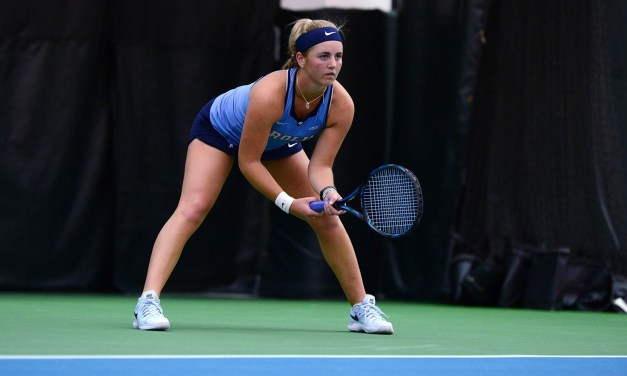 UNC Women's Tennis Qualifies for National Indoor Championships by Defeating Illinois