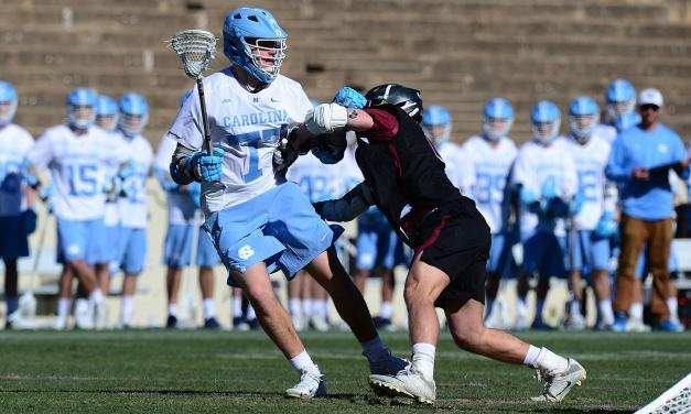 Tar Heels Take Men's Lacrosse Season Opener vs. Lafayette