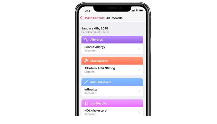 Apple, UNC Health Care Health Records iPhone Feature out of Beta