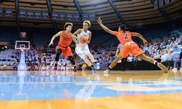 Virginia Tech Topples UNC Women's Basketball in Chapel Hill