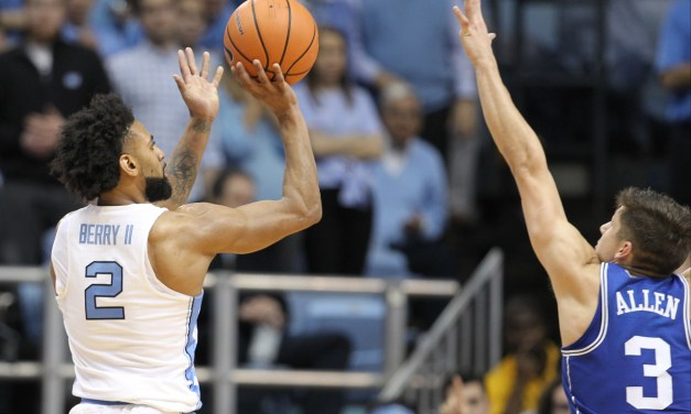 Second-Half Surge Sparks No. 21 UNC to Win Over No. 9 Duke