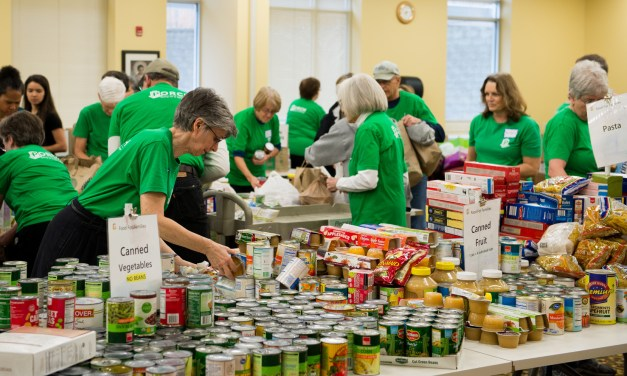 Chapel Hill Hunger Relief Organization Porch Reaches Donations Landmark